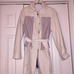 Lavender Wool Coat